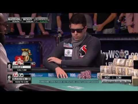 WSOP 2015 - Main Event Final Table - Day 3 (3/3)