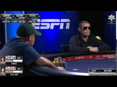 WSOP 2014 - Asia Pacific Main Event Final Table - Part 5