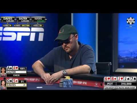 WSOP 2014 - Asia Pacific Main Event Final Table - Part 7