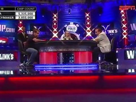 WSOP 2011 Grudge match 2 - Chris Moneymaker Vs Sammy Farha - Part 11/13