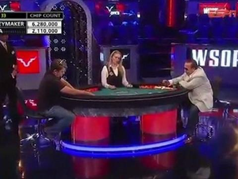 WSOP 2011 Grudge match 2 - Chris Moneymaker Vs Sammy Farha - Part 12/13