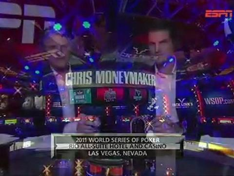 WSOP 2011 Grudge match 2 - Chris Moneymaker Vs Sammy Farha - Part 13/13