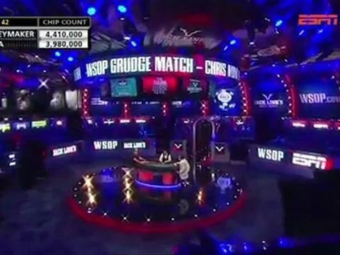 WSOP 2011 Grudge match 2 - Chris Moneymaker Vs Sammy Farha - Part 8/13
