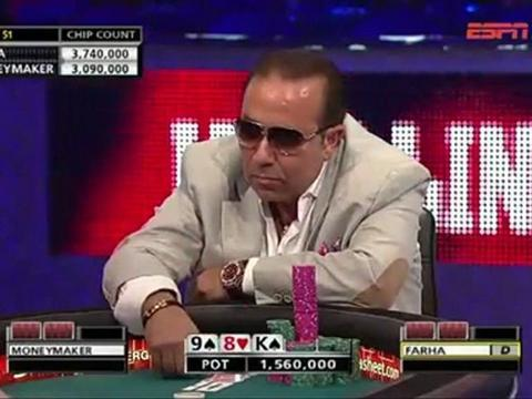 WSOP 2011 Grudge match 2 - Chris Moneymaker Vs Sammy Farha - Part 9/13